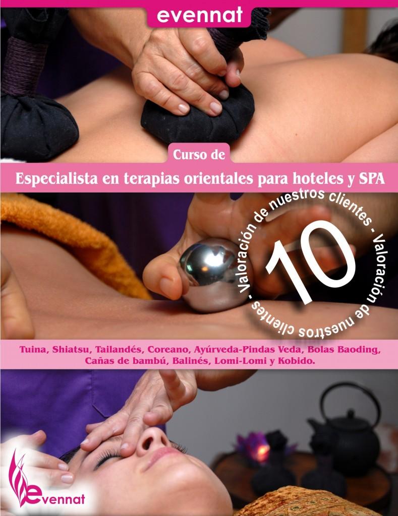 Curso de especialista en terapias orientales para hoteles y SPA